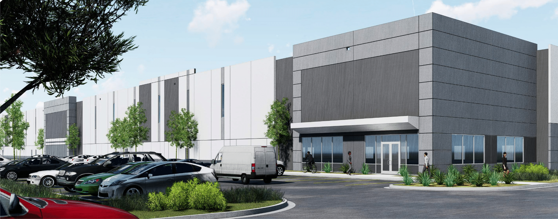 Rendering of Trade @ 2534 development in Johnstown, Colo.