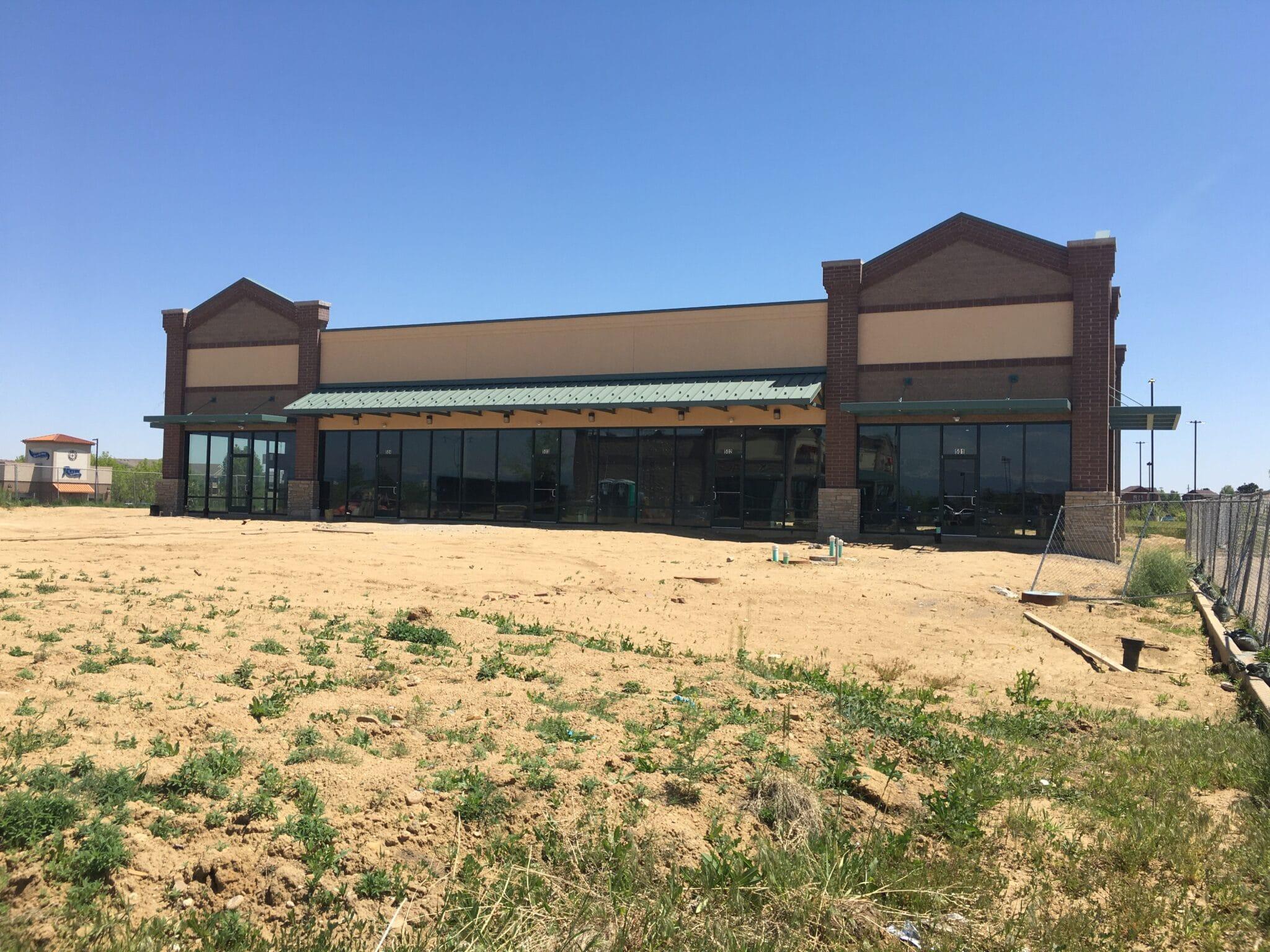 Photograph of High Plains Marketplace Retail development