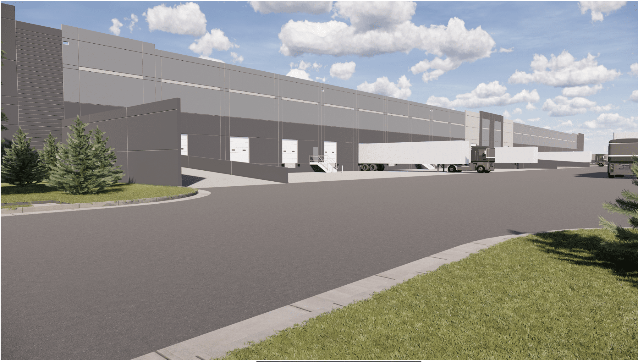Baseline industrial buildings 3 and 4 Project Photo